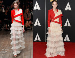 Rooney Mara In Alexander McQueen - Academy Of Motion Picture Arts And Sciences' 7th Annual Governors Awards