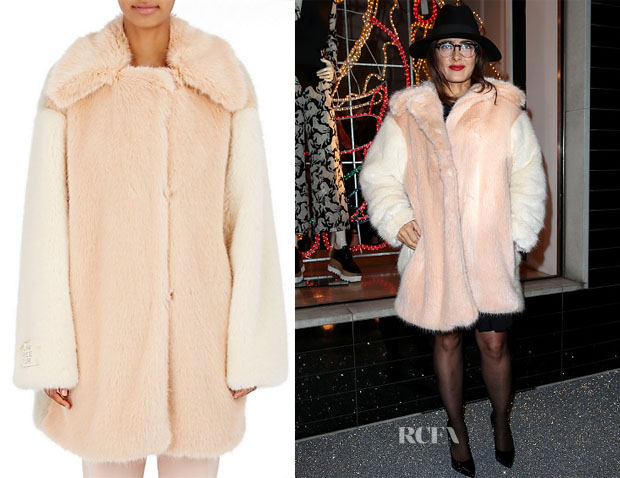 Salma Hayek's Stella McCartney Wren Coat