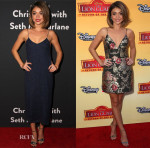 Sarah Hyland In Houghton & Zimmermann - The Grove Christmas With Seth MacFarlane & 'The Lion Guard: Return of the Roar' LA Premiere
