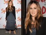 Sarah Jessica Parker In Christian Dior - 'Sylvia' Opening Night
