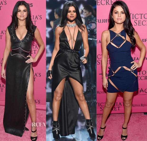 Selena Gomez In Louis Vuitton, Jolibe Atelier & Mugler - 2015 Victoria's Secret Fashion Show