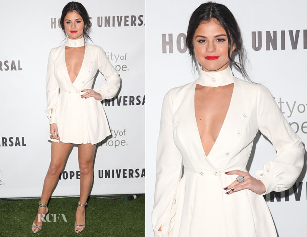 Selena Gomez In Ulyana Sergeenko - City Of Hope's 2015 Spirit Of Life Gala