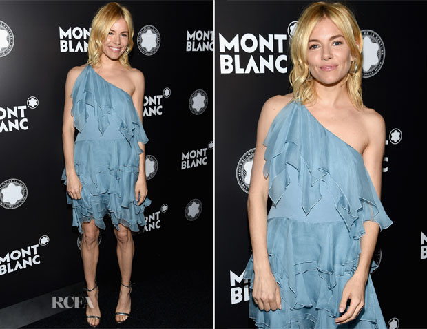 Sienna Miller In Saint Laurent - 24th Montblanc De La Culture Arts Patronage Award