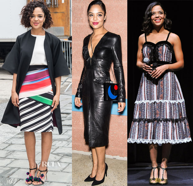 Tessa Thompson In Roksanda, Kimora Lee Simmons, Altuzarra & Rodarte - 'Creed' Promotion