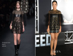 Tessa Thompson In Valentino - 'Creed' LA Premiere