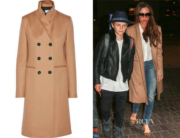 Very best Victoria Beckham's Vicotoria Beckham Double-Breasted Wool Coat  BI66