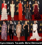 Who Was Your Best Dressed At The Governors Awards?