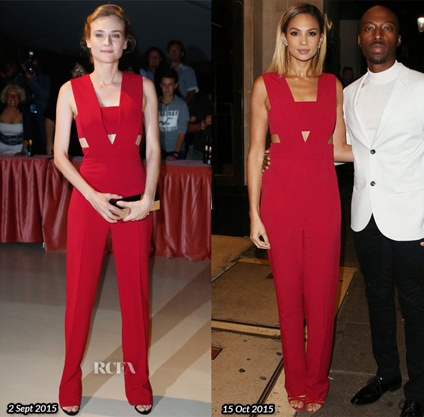 Who Wore Cushnie et Ochs Better Diane Kruger or Alesha Dixon