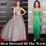 Best Dressed Of The Week - Natalie Dormer In Vivienne Westwood Couture & Jenna Dewan-Tatum In Monique Lhuillier