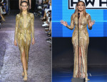 jennifer lopez in Julien Macdonald amas