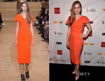Amy Adams In Roland Mouret - TrevorLIVE LA 2015