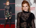 Bella Thorne In Topshop Unique -  'The Hateful Eight' LA Premiere