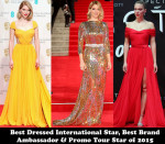 Best Dressed International Star, Best Brand Ambassador & Promo Tour Star of 2015 – Lea Seydoux