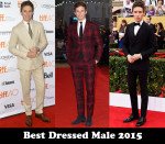 Best Dressed Male 2015 – Eddie Redmayne