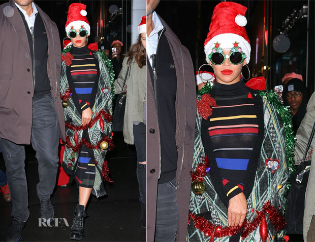 Beyonce Knowles In Stella McCartney - Christmas Party