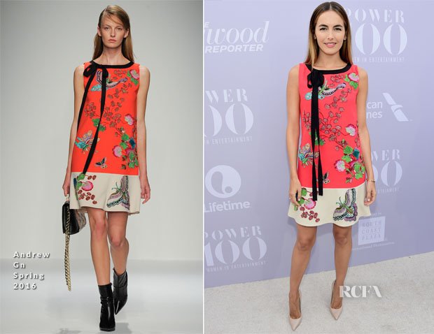 Camilla Belle In Andrew Gn - The Hollywood Reporter's Annual Women In Entertainment Breakfast
