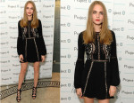 Cara Delevingne In For Love & Lemons - Project-0 Wave Makers Charity Concert