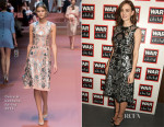 Carey Mulligan In Dolce & Gabbana - The War Child Winter Wassail