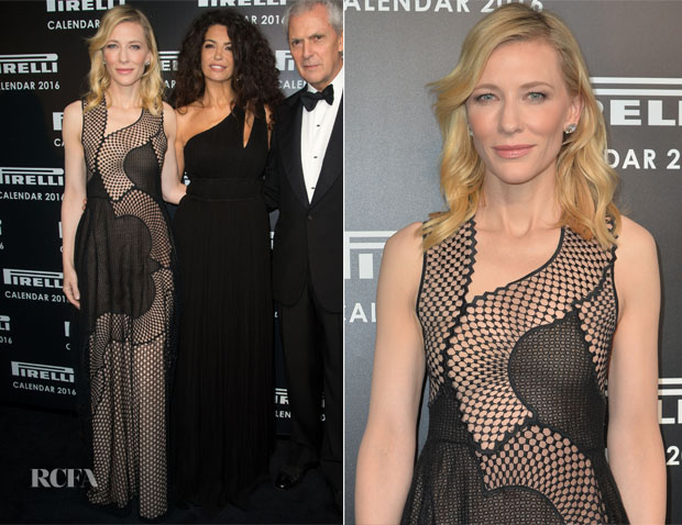 Cate Blanchett In Stella McCartney - 2016 Pirelli Calendar Cocktail Reception & Gala Dinner