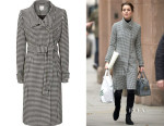 Catherine, Duchess of Cambridge's Reiss Rubik Houndstooth Coat