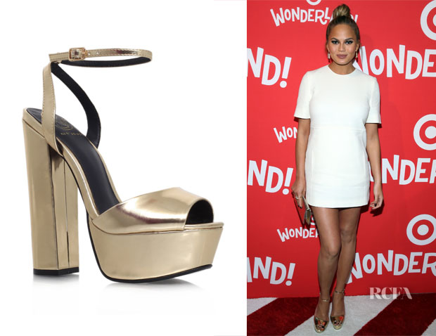 Chrissy Teigen's KG Kurt Geiger Hero Sandals