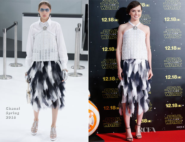 Daisy Ridley In Chanel - 'Star Wars The Force Awakens' Tokyo Fan Event