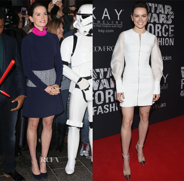 Daisy Ridley In Roksanda & David Koma - Good Morning America &  Star Wars 'Force 4 Fashion' Event