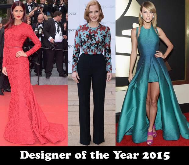 Designer Of The Year 2015 Elie Saab Red Carpet Fashion Awards