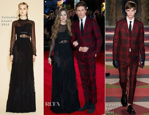 Eddie Redmayne In Valentino - 'The Danish Girl' London Premiere