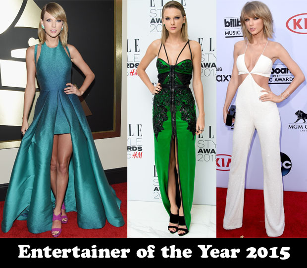 Entertainer of the Year 2015 Taylor Swift