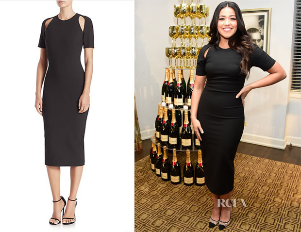 Gina Rodriguez's Elizabeth and James Bayli Dress