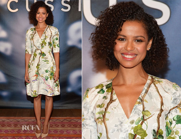 Gugu Mbatha-Raw In Philosophy di Lorenzo Serafini - 'Concussion' Photocall