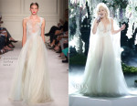 Gwen Stefani In Marchesa - The Voice