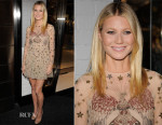 Gwyneth Paltrow In Valentino - goop mrkt Grand Opening Event