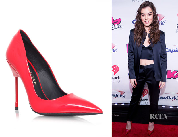 Hailee Steinfeld's  Kurt Geiger London Britton Pumps