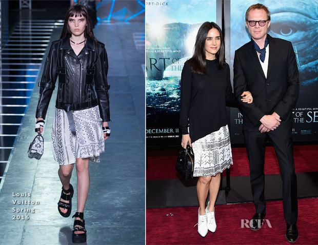 Jennifer Connelly In Louis Vuitton - 'In The Heart Of The Sea' New York Premiere