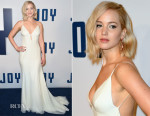 Jennifer Lawrence In Christian Dior Couture - 'Joy' New York Premiere