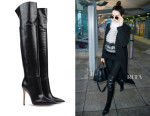 Kendall Jenner's Gianvito Rossi Over The Knee Boots
