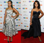 Kerry Washington In Alexander McQueen & Marchesa - 2015 Kennedy Center Honors Formal Artist's Dinner & Gala