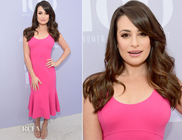 Lea Michele In Michael Kors Collection - The Hollywood Reporter's Annual Women In Entertainment Breakfast