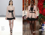 Lupita Nyong'o In David Koma - 'The Ellen Degeneres Show'