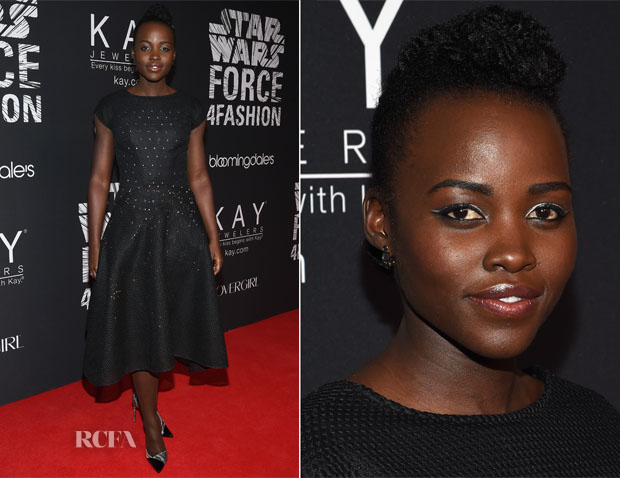 Lupita Nyong'o In ZAC Zac Posen - Star Wars 'Force 4 Fashion' Event