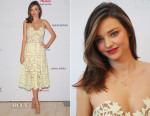 Miranda Kerr In Self-Portrait - Kora Cosmetics Pop Up Shop
