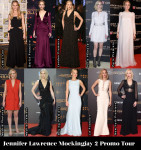 Which Was Your Favourite Jennifer Lawrence 'The Hunger Games: Mockingjay – Part 2' Promo Tour Look?