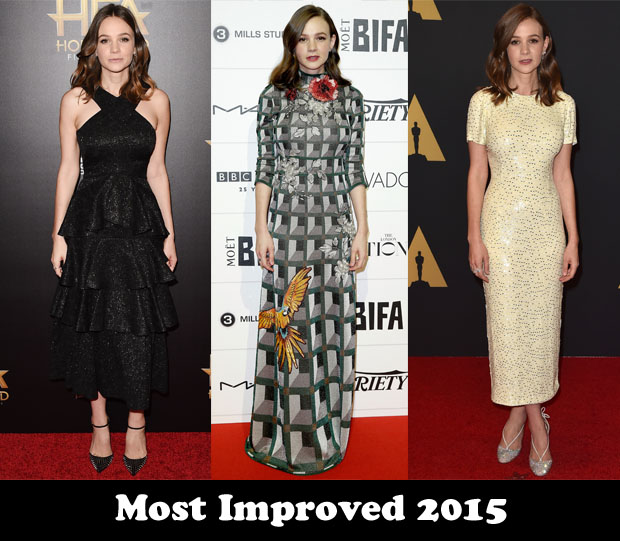 Most Improved 2015 - Carey Mulligan