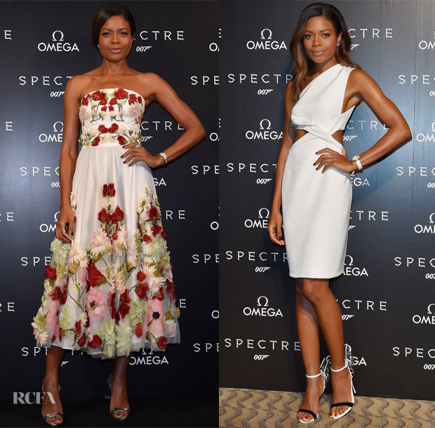 Naomie Harris In Alexander McQueen & Kaufmanfranco - OMEGA And Naomie Harris Celebrate The Release Of 'Spectre'