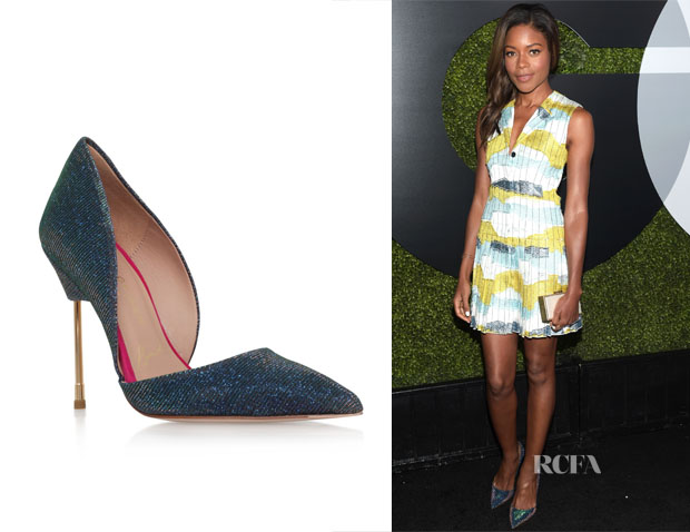 Naomie Harris' Kurt Geiger London Bond Pumps