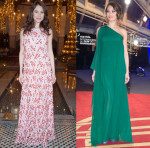 Olga Kurylenko In Christian Dior Couture & Elie Saab - 15th Marrakech International Film Festival