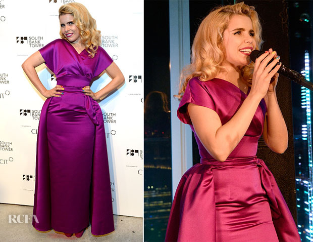 Party In The Sky With Paloma Faith In Vivien of Holloway At South Bank Tower