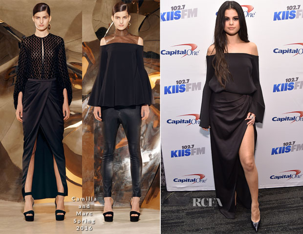 Selena Gomez In Camilla and Marc - KIIS FM Jingle Ball